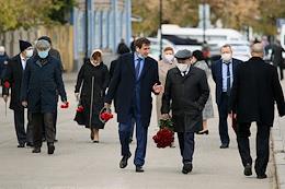 Farewell ceremony for the famous political and public figure of the Republic of Tatarstan Fandas Safiullin.
