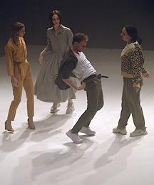 The play 'Island' of the dance company 'Dialogue Dance' in the theatrical and cultural center named after Vs. Meyerhold.
