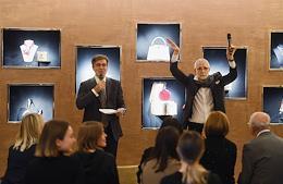 Presentation of Alexey Tarkhanov's book 'On Demand, Paris' in Louis Vuitton GUM apartments.
