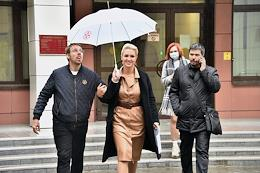 Announcement of the verdict in the 'Sanitary case' against the head of the trade union 'Alliance of Doctors' Anastasia Vasilyeva, the situation at the Preobrazhensky court.