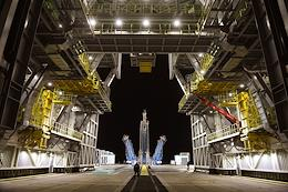 Vostochny cosmodrome. Launch of the 'Soyuz-2.1b' carrier rocket with the 'Fregat' upper stage and 36 OneWeb spacecraft on board.