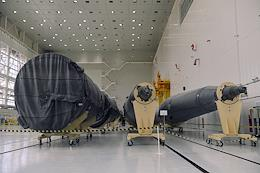 Launch ceremony of the 'Soyuz-2.1b' carrier rocket with the 'Fregat' upper stage and 36 OneWeb spacecraft on board.